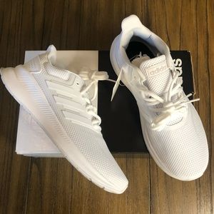 Adidas runfalcon White sneakers running shoes